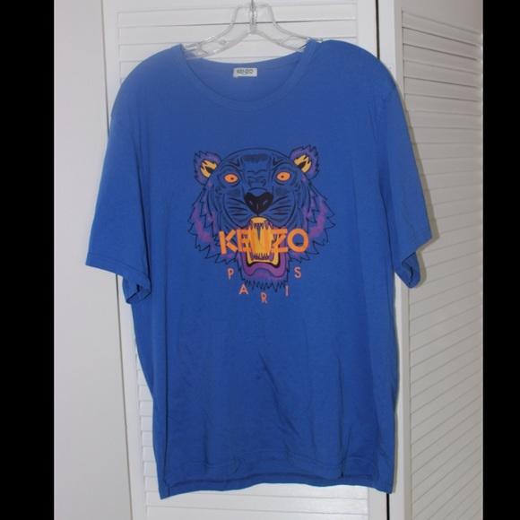Tshirt ShirtsBlue ShirtsBlue Kenzo Poshmark Tiger Tiger Kenzo AL5q3Rj4